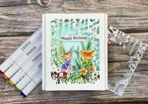 Fairy Shadow Box Card