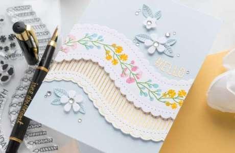 Wavy Borders Card