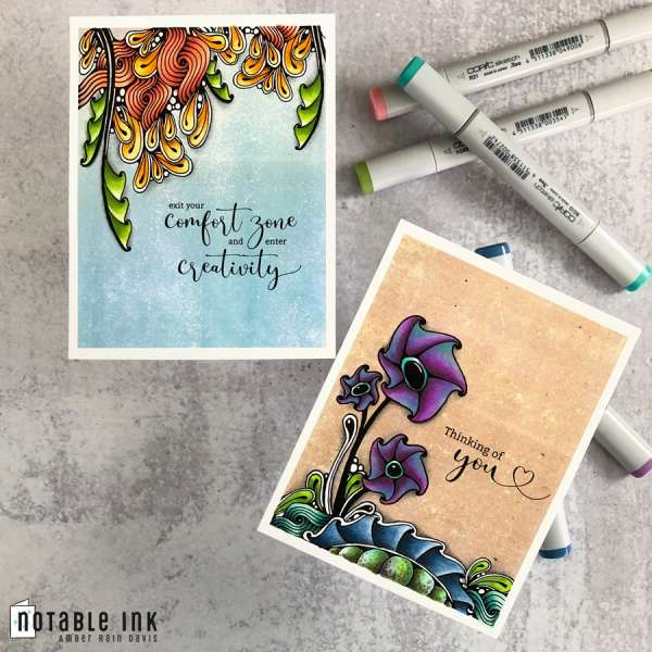 Tips for Digital Stamps and Copics