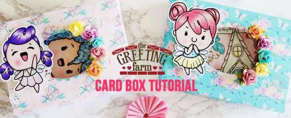 Fairy Card Holder Box