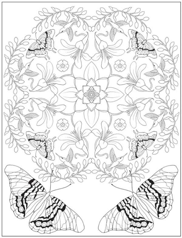 6 Joys of Nature Coloring Pages