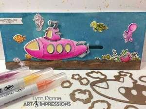 Submarine Slider Card