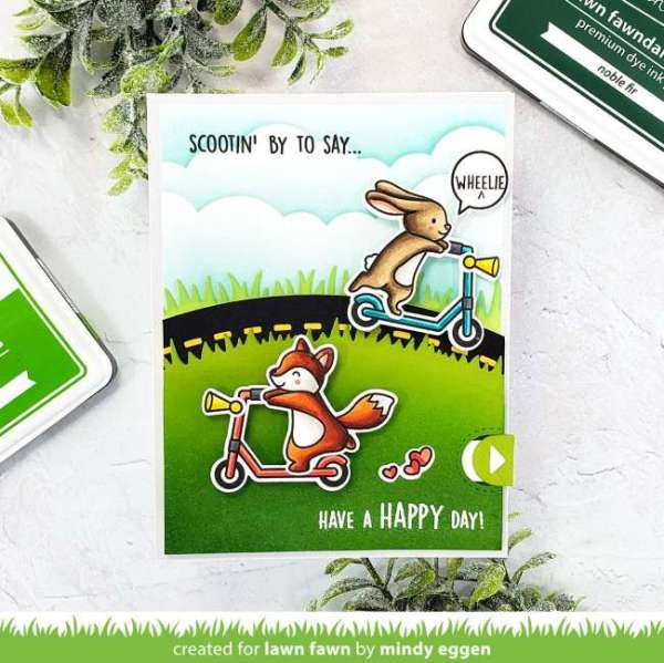 Interactive Scooter Card
