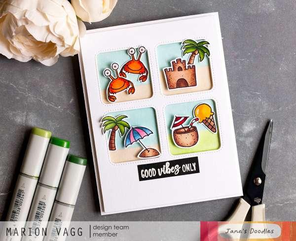 Beach Vibes Card Tutorial