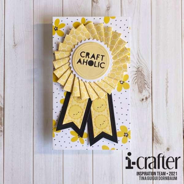 Crafty Prize Ribbon Card