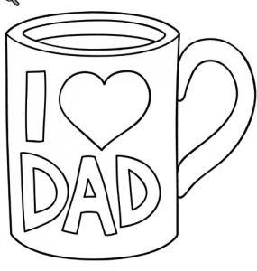 Dad Mug Free Digital Stamp