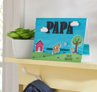 You're Pawsome Father's Day Card