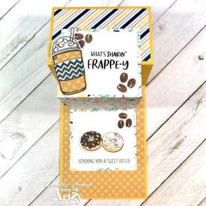 Coffee and Doughnuts Step Card