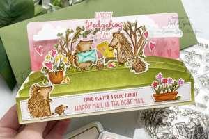 Hedgehog Pop Up Box Card Tutorial
