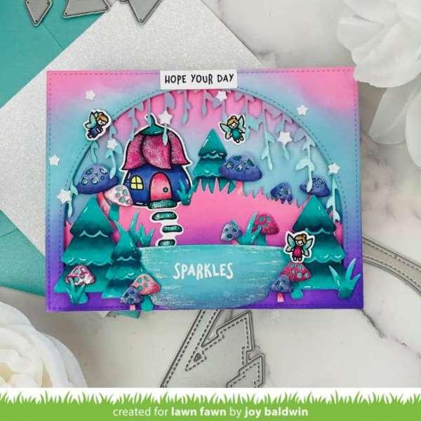 Fairy Forest Glen Card
