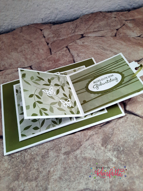 Interactive Popping Flap Card