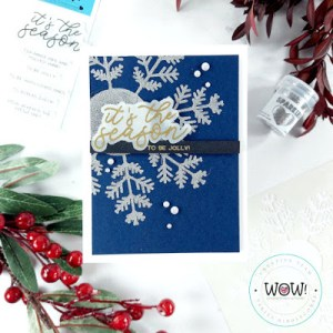 Christmas in July Snowflake Card