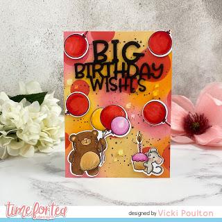 Birthday Balloons Card Tutorial