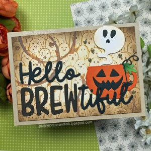 Halloween Coffee Card