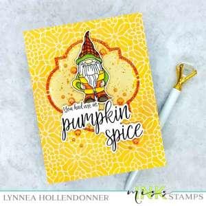 Pumpkin Spice Gnome Card