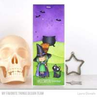 Halloween Witch Pull Tab Card