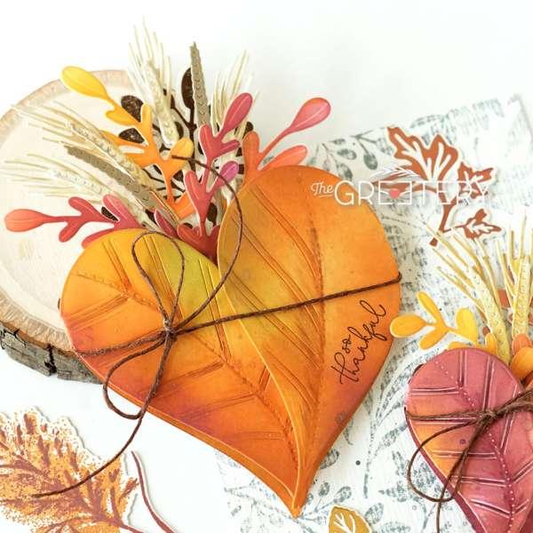 Fall Botanical Posey Pocket Cards