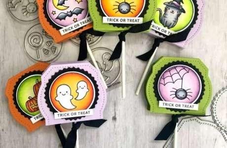 Halloween Lollipop Covers