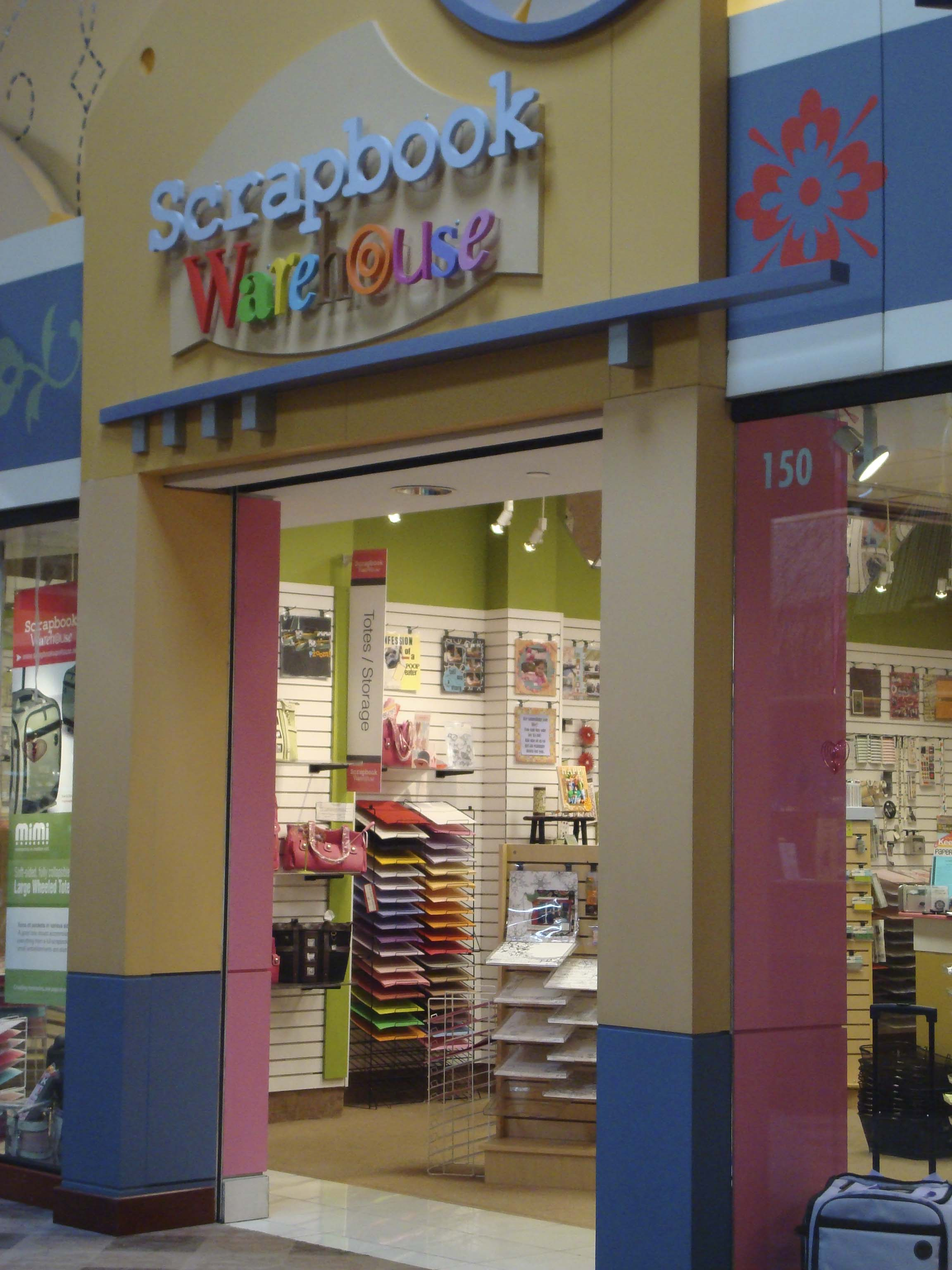 A New Scrapbook Supply Store At Opry Mills Mall The Art