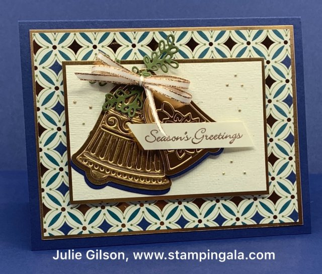 Bells are Ringing Bundle, Newsletter, Itty Bitty Christmas, Heat Embossing