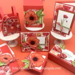 Painted Poppies & Peaceful Moments Class to Go, #Stampin