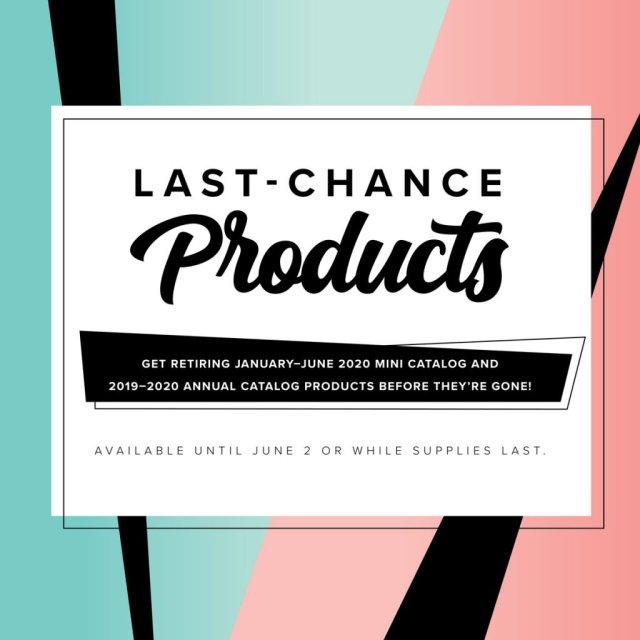 Just announced, Stampin' Up Retiring Lists from the 2019-2020 Annual Catalg and the Jan - June 2020 Mini Catalog, #Stampin' Up, #Stampin' Gala, #Discount