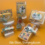 Bonanza Buddies Class to Go, includes six projects, three cards and three treat holders. #Stampin