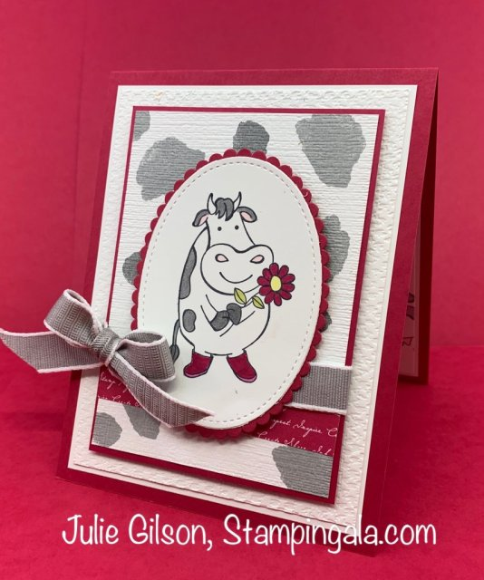 Over the Moon Stamp Set greeting cards and 3D treat holder. #Stampin' Up, #Stampin' Gala, #treat holder, #3D