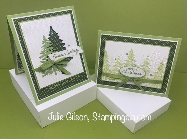 12 Day of Christmas Projects created by Julie Gilson, Stampingala.com.  #Stampin' Up, #Treat Holders, #Christmas Crafts, #DYI, #Stocking Stuffer