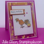 Birthday card created with Stampin