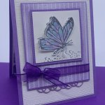 Greeting Card created with the A Touch of Ink Stamp Set. #Stampin
