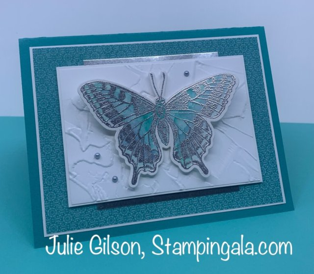 Greeting cards and treat holder created with the Butterfly Bouquet Bundle.  #Stampin' Up, #Stampin' Gala, #Spring cards, #Handmade cards, #3D