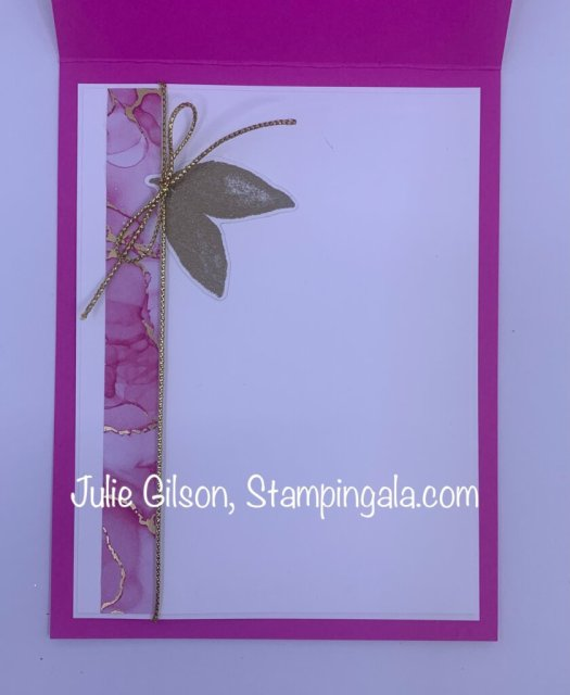 Greeting Cards & Notepad created with Stampin' Up's Artistically Inked Bundle. #Stampin' Gala, #Julie Gilson, #Expressions in Ink, #Party Favors, #Handmade Crafts, #DYI, #3D