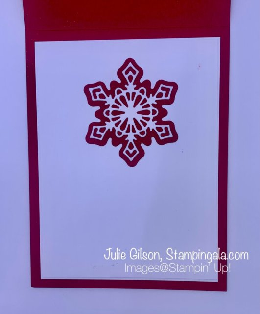 Christmas Cards & Treat Holder created with Stampin' Up's! Frosted Gingerbread Bundle & Pretty Pillow Box Dies. #Stampin' Gala, #Julie Gilson, #Christmas Crafts, #Handmade Cards, #Party FavorsChristmas Cards & Treat Holder created with Stampin' Up's! Frosted Gingerbread Bundle & Pretty Pillow Box Dies. #Stampin' Gala, #Julie Gilson, #Christmas Crafts, #Handmade Cards, #Party Favors