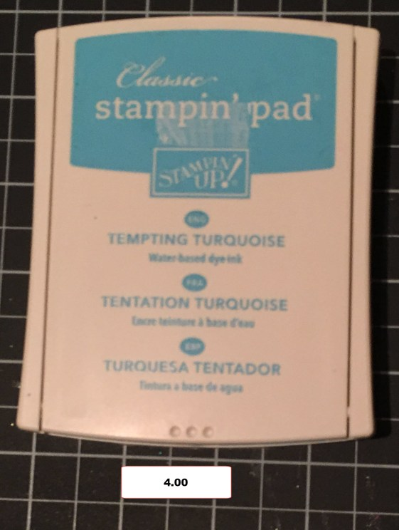 Tempting Turquoise Ink Pad 2