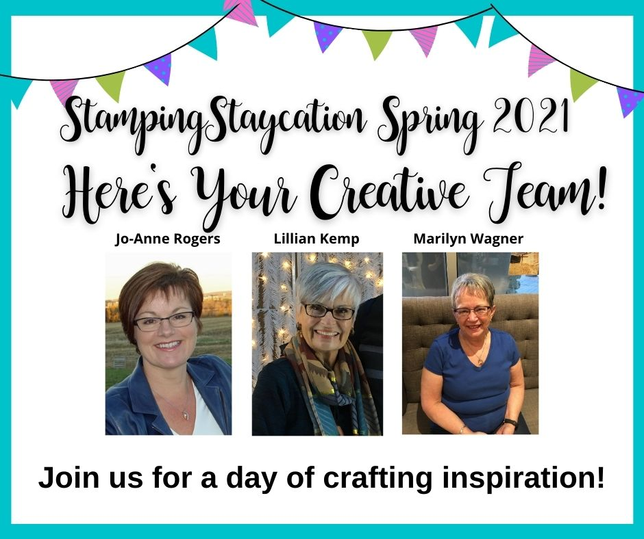 Stamping Staycation Team