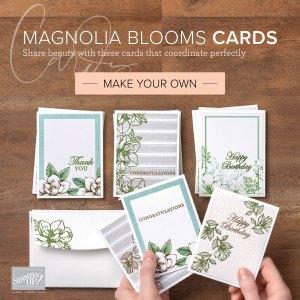 Magnolia handmade greeting cards, DIY, Craft
