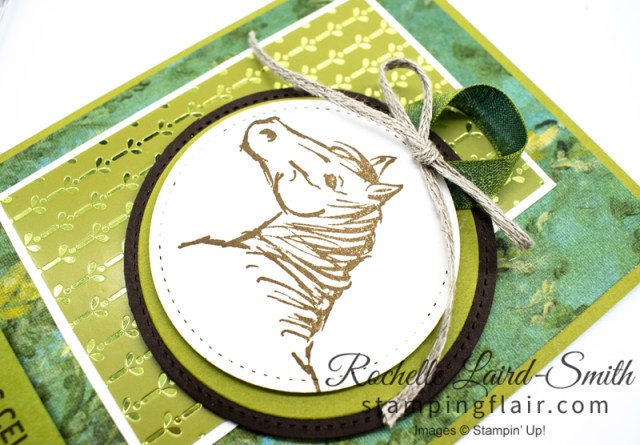 Stampers Showcase Blog Hop, Horse handmade card