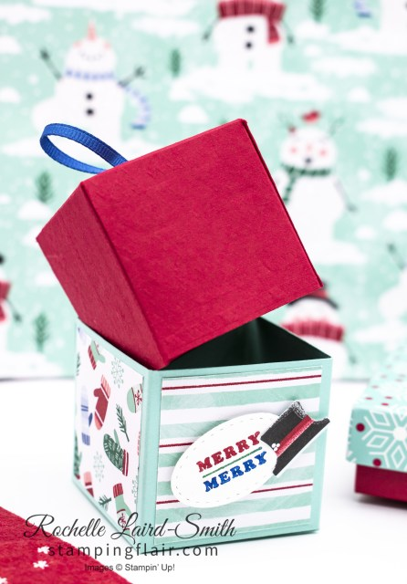Cube Pull out gift box Easy to make