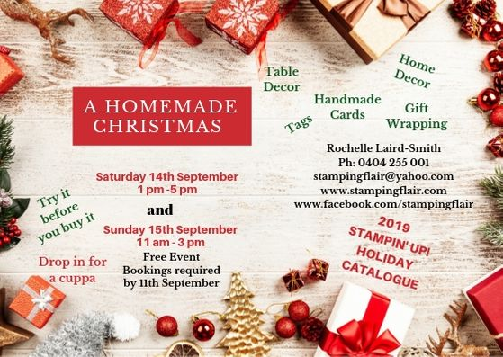 Free Christmas Handcraft event in Blind Bight