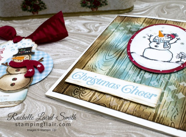 Coordinated Christmas Products using Snowman Season Stamp set