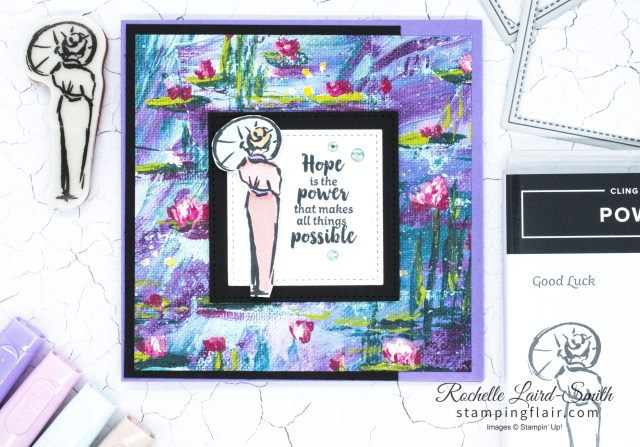 Power of Hope Stamp set coloured with Stampin' Blends