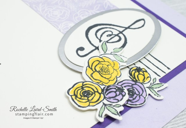 Musical Scrapbook page using music from the Heart