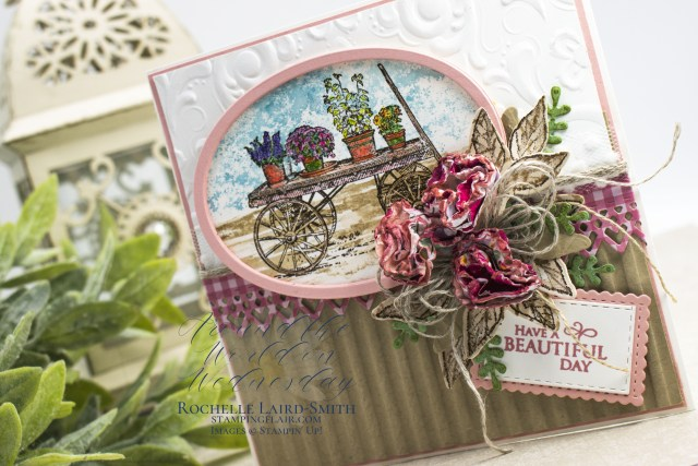 Create a French Country inspired handmade card