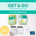 Get & Go promotion, Join my team, Stampin' Up!