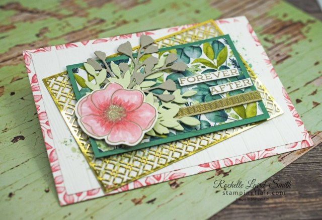 Stamp N' Hop, Favourite Bundle, Forever Greenery, Gold Lasercut paper