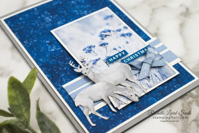 Most Wonderful Time Product Medley, Stampin Up, First Frost DSP, Christmas Card