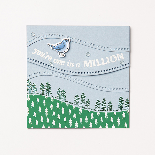 Quite Curvy bundle, Curvy Celebrations, Bird card