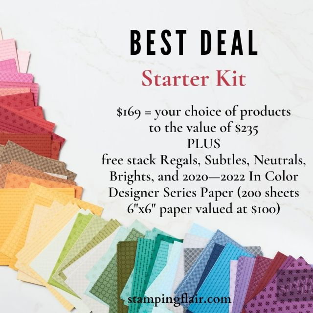 Starter Kit offer, SAB 2021, Sale-a-Bration