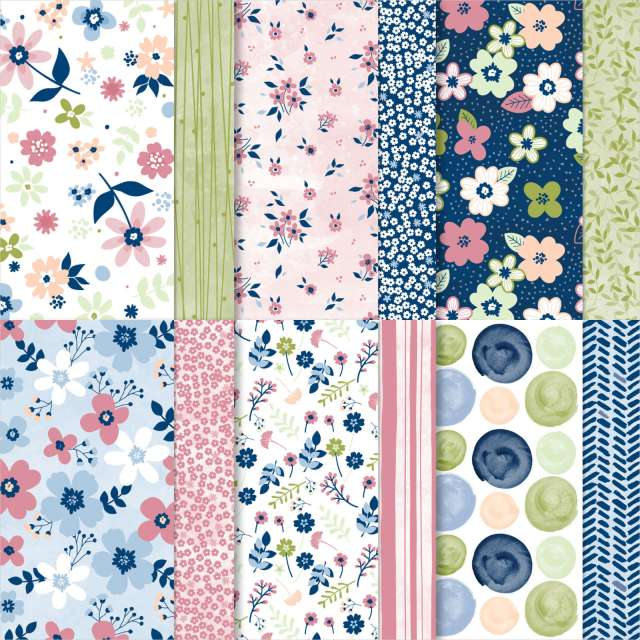 Paper Blooms Designer Series Paper, DSP